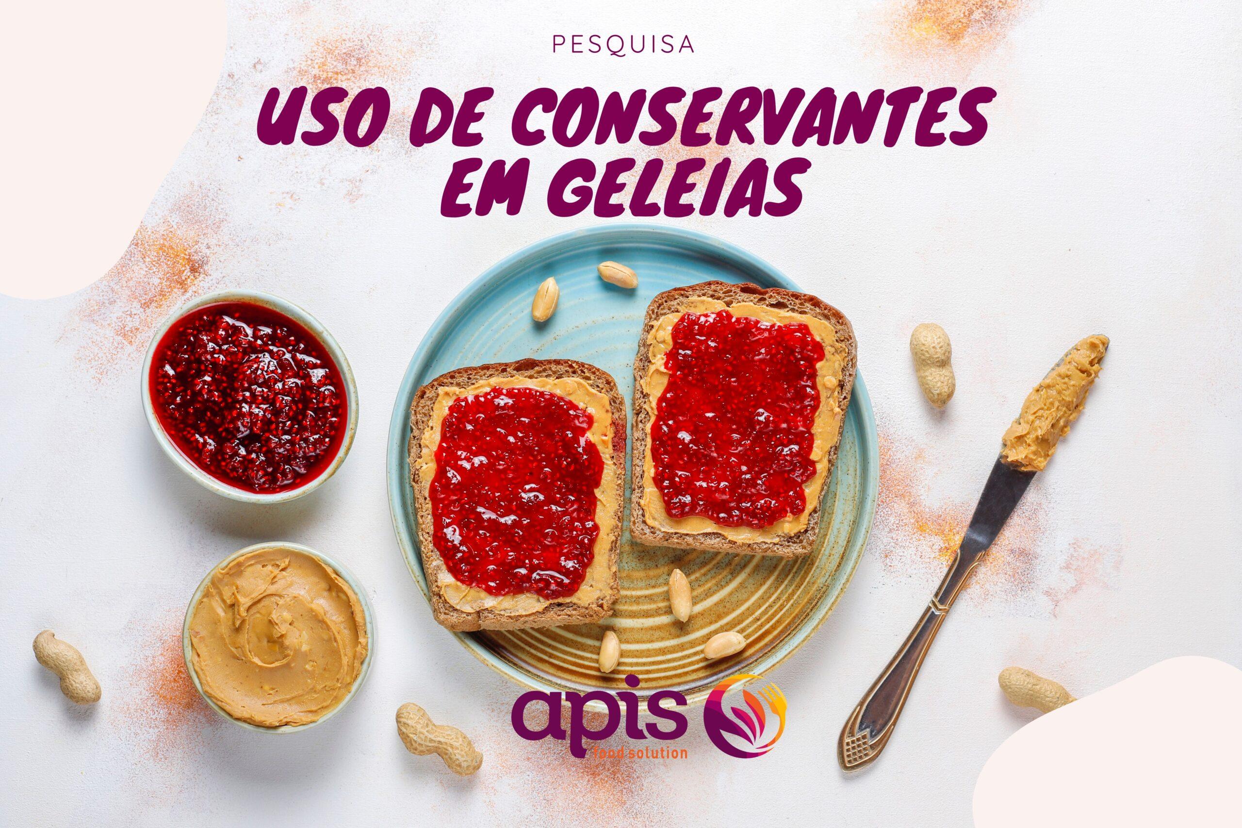 Uso de conservantes em geleias - Apis